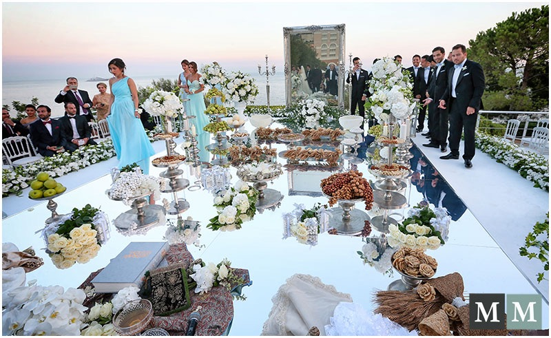 Persian wedding planner in bodrum turkey