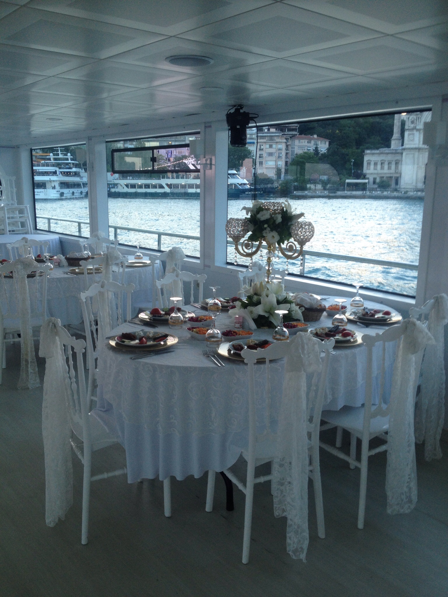 boat wedding decoration price in istanbul turkey